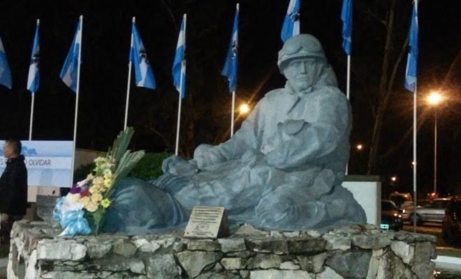 Desde las 20, Vigilia en Homenaje a los Héroes de Malvinas