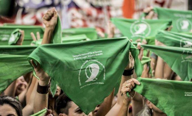 """129 diputados dijeron""""Aborto legal, seguro y gratuito"""""""