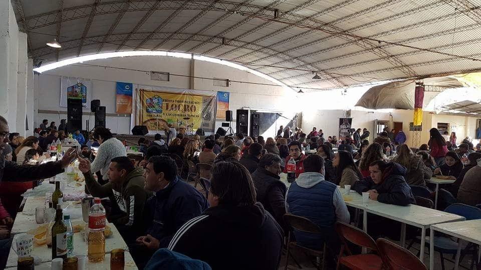 La fiesta se vive a ful en Villa San Isidro.