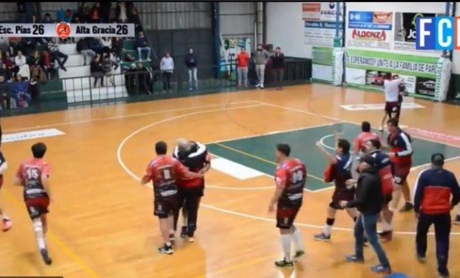 Alta Gracia finalista en handball