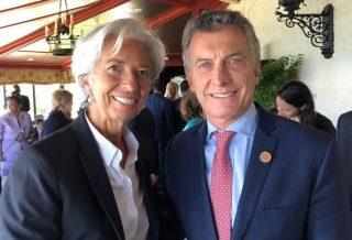 Acuerdo con el Fondo Monetario Internacional por 50 mil millones de dólares.