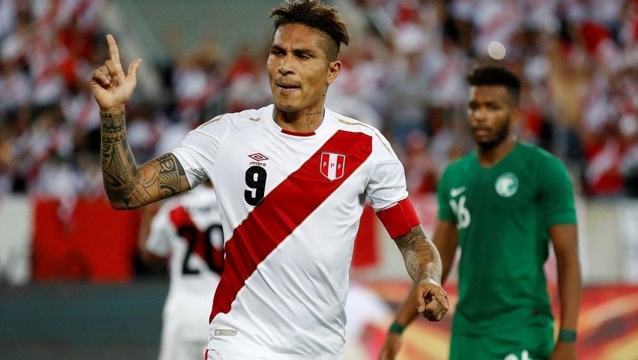Perú vuelve entonado a un Mundial, de la mano de Guerrero.