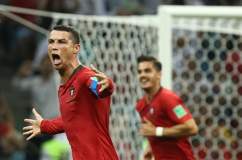 Cristiano Ronaldo fue el gran protagonista del día.