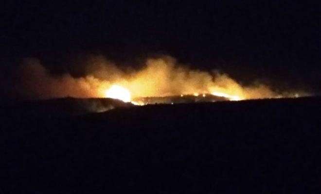 Incendio en La Banderita