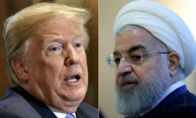 Donald Trump cruzó en Twitter al presidente de Irán