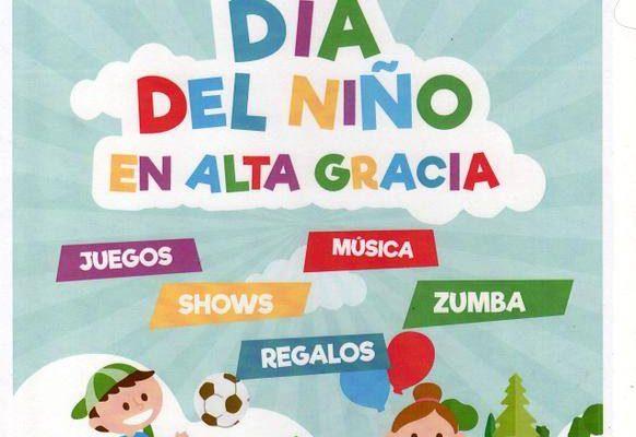 Festejos del Día del Niño en Alta Gracia