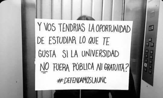 #DefendamosALaUNC