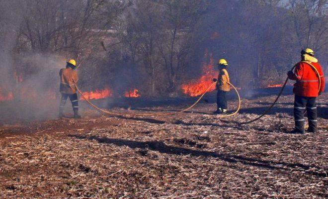 Rige la alerta máxima por riesgo de incendio en Córdoba