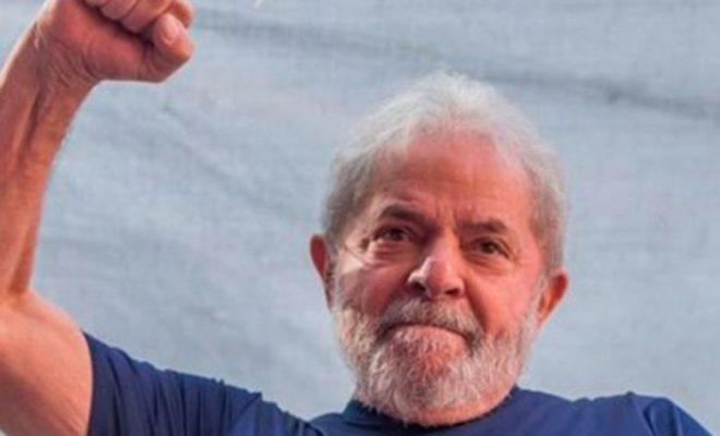 Lula Da Silva se propuso para candidato presidencial