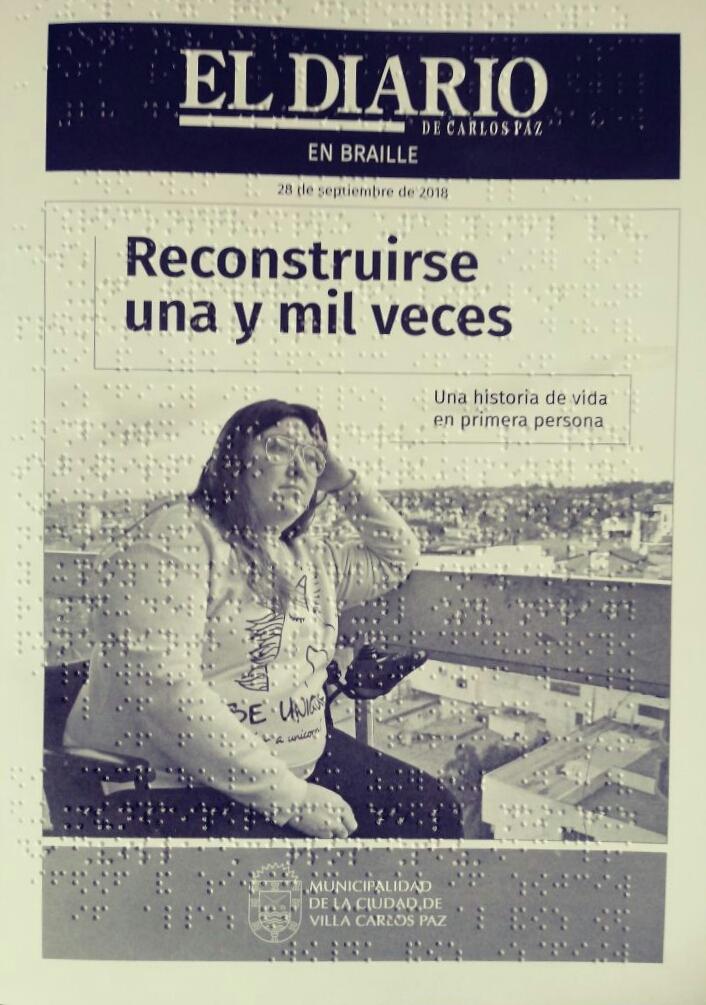 """""""El Diario de Carlos Paz"""" saldrá en braille"""
