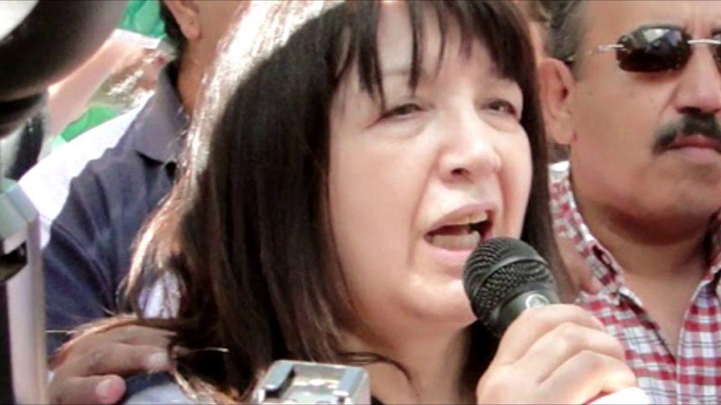 Ilda Bustos pide la solidaridad de la Legislatura