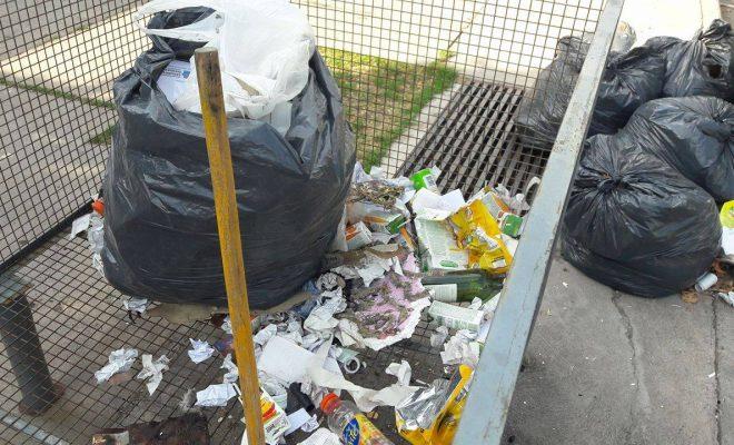 Suspenden por la lluvia la recolección de residuos