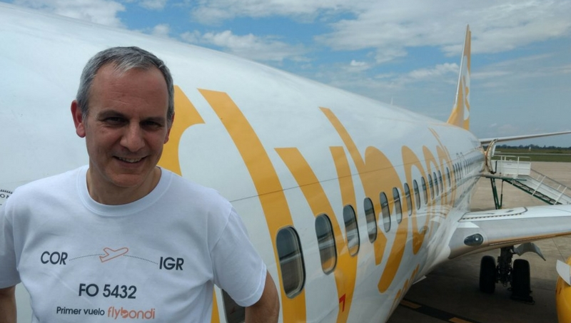 Julián Cook, CEO de FlyBondi