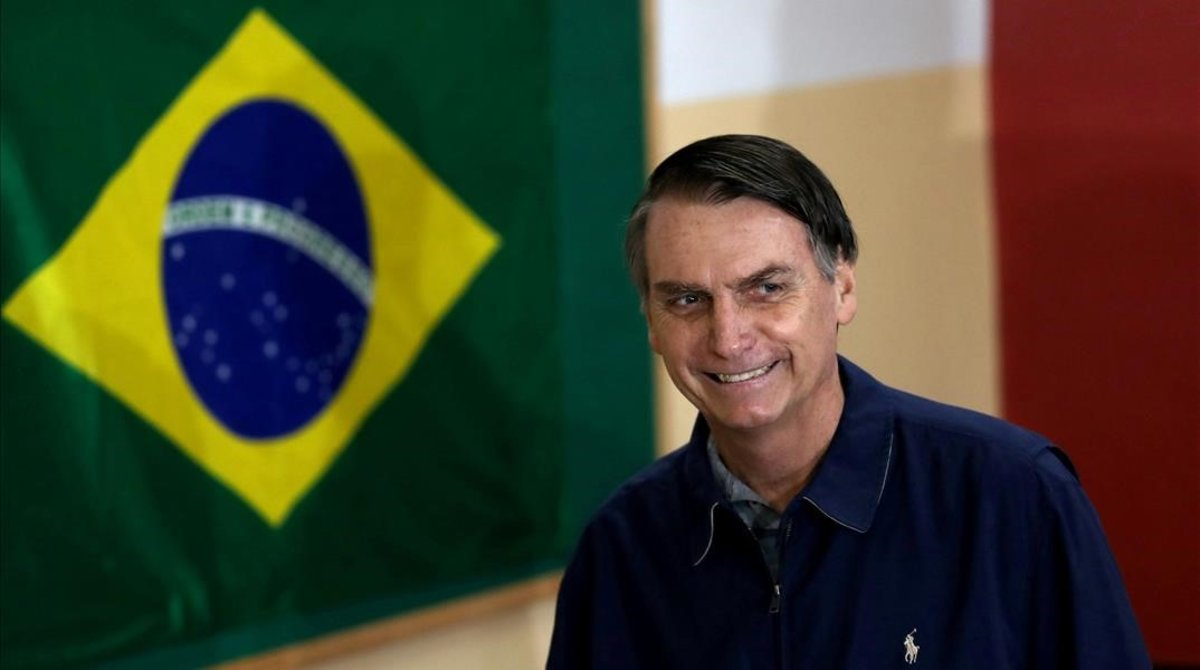 Jair Bolsonaro es el nuevo presidente de Brasil