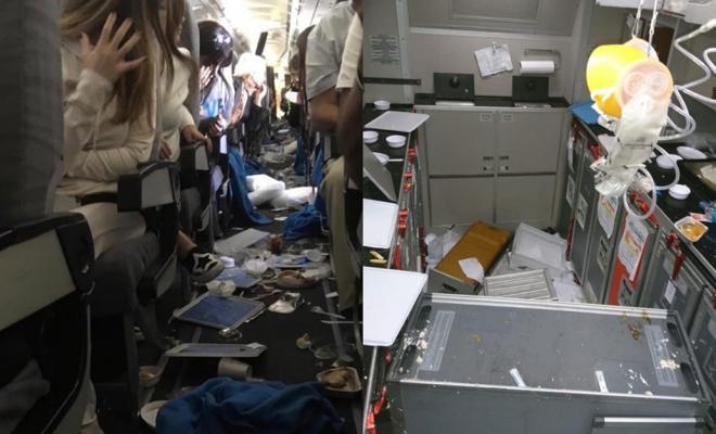 Una fuerte turbulencia dejó 15 heridos en un vuelo de Aerolíneas Argentinas