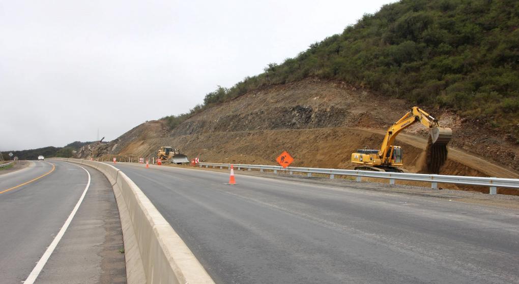Ruta 38 a la altura de PunillaRuta 38 a la altura de Punilla
