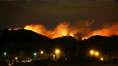 Incendios forestales: ya son 5800 las hectáreas afectadas