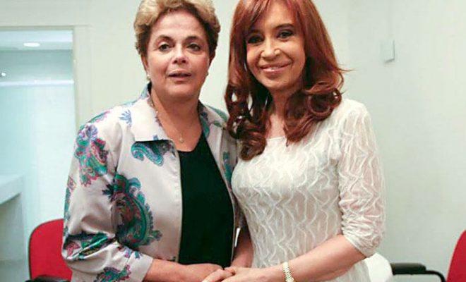 """Comenzó la """"contracumbre"""" del G20 con Cristina y Dilma"""