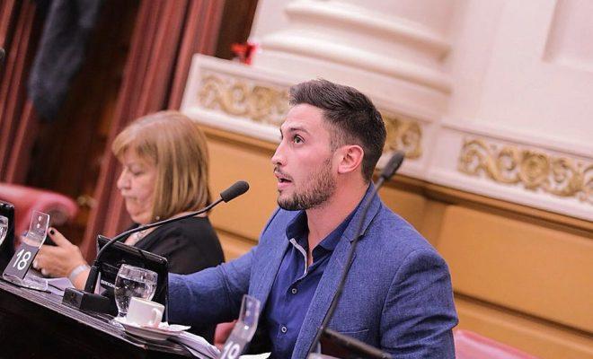 Franco Saillén, legislador provincial