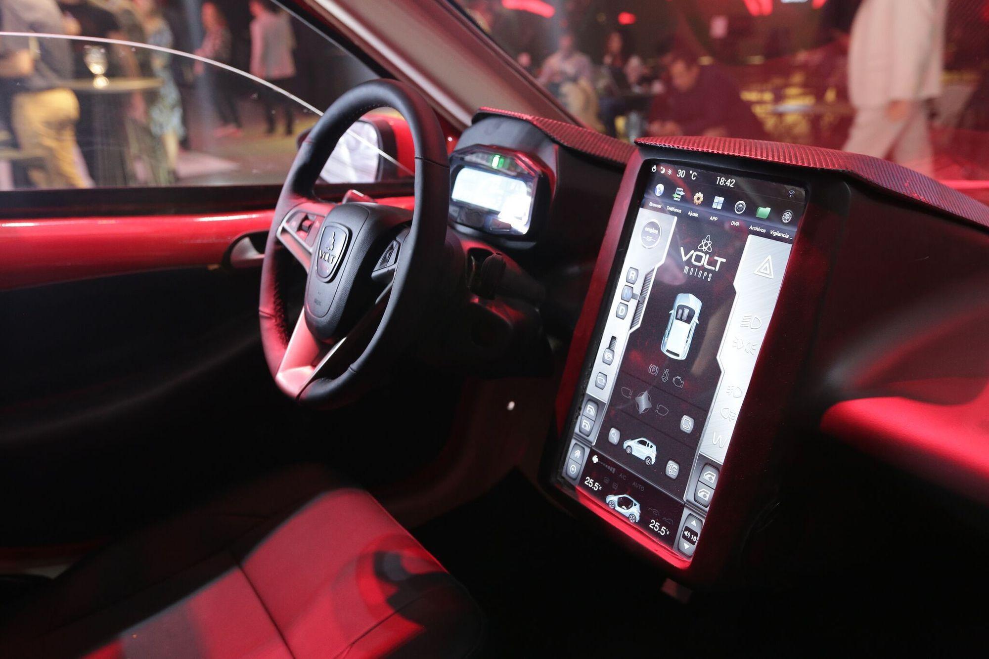 VOLT E1 será el primer auto automático fabricado en el país