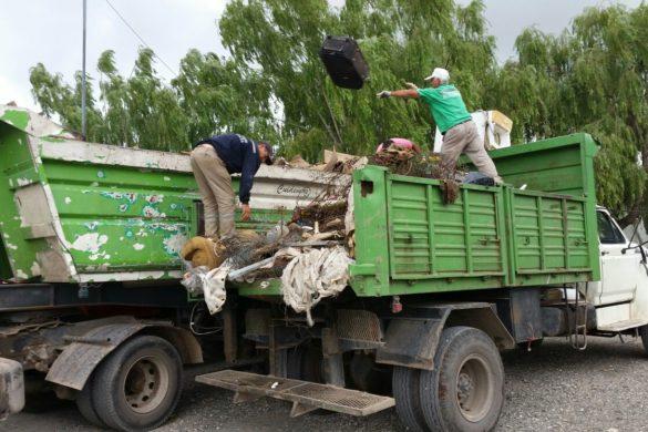 Recolección de basura chatarra