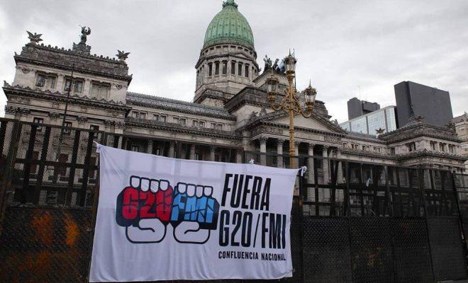 Marchas contra el G20