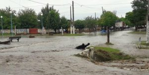 400 familias evacuadas en Finca de Mayo. Foto: El diario 24