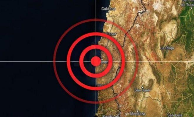 Epicentro del terremoto