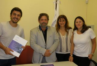 """El CONICET firmó un convenio con la fundación altagraciense """"Ecoinclusión"""""""