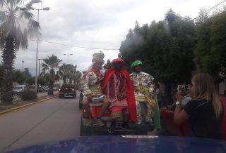 Los Reyes Magos recorriendo San Clemente