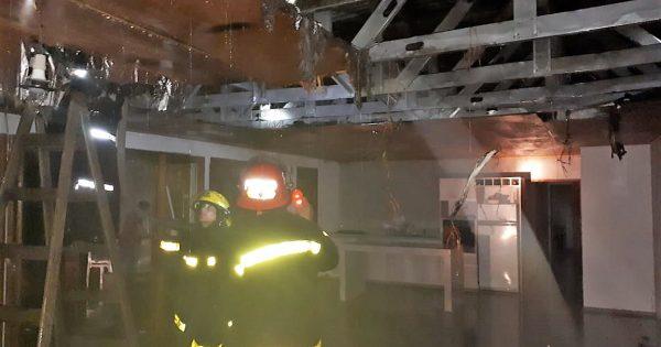 Incendio en San Clemente