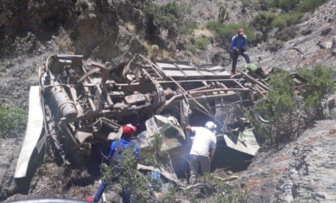 Desbarrancó colectivo en Bolivia y murieron cuatro pibes mendocinos