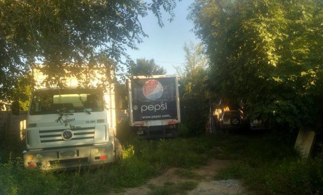 Recuperan dos camiones que fueran robados en Canals