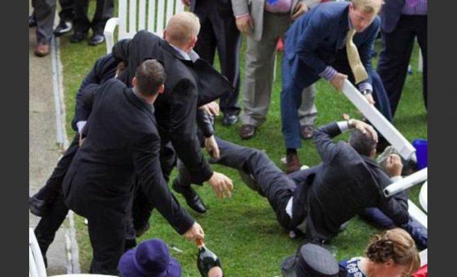 El casamiento terminó en pelea y un herido con fractura expuesta