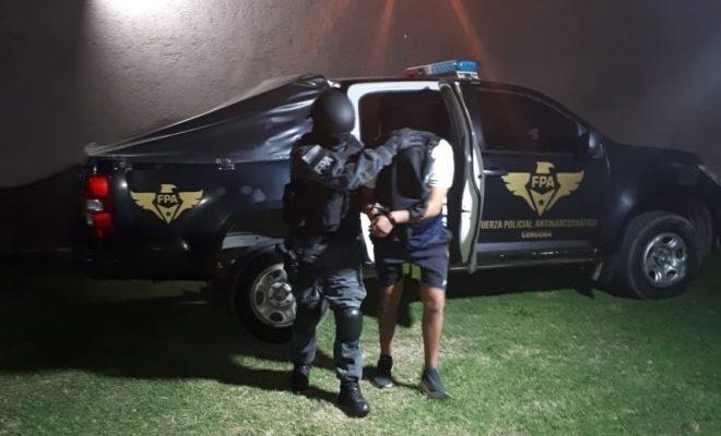 Barrio Córdoba: ocultaba la cocaína en la cucha del perro