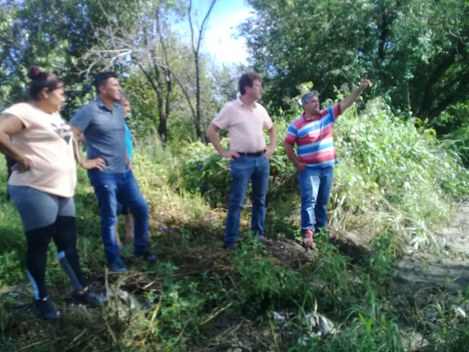 Planifican obras urgentes para los vecinos de Falda del Carmen