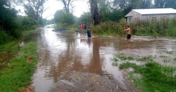 Valle Alegre: el repetido drama de quedar aislados e inundados