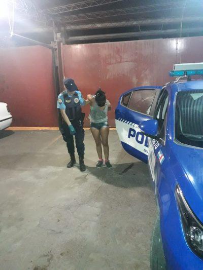 Dos detenidos por robar una moto en barrio Parque San Juan