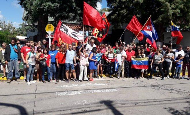 Manifestaciones en apoyo a Maduro en Alta Gracia
