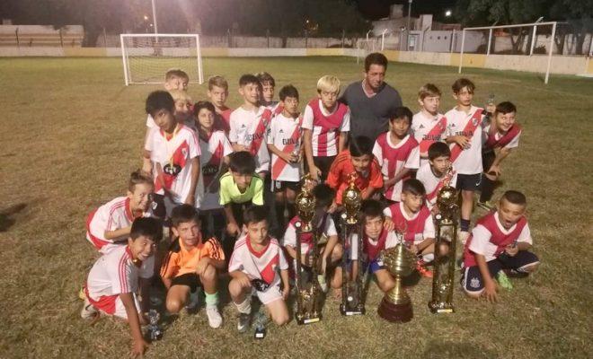 """Fútbol infantil: River se quedó con la Copa Challenger """"Asociación Deportivo Norte"""""""