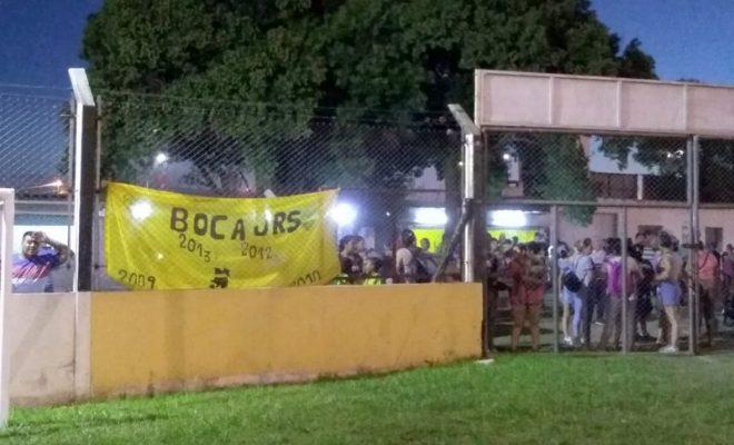 Se suspende la jornada de fútbol de hoy en Deportivo Norte