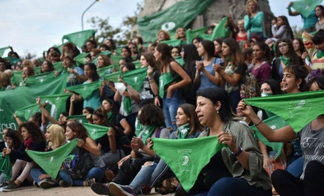 """También en Alta Gracia habrá hoy un """"Pañuelazo Verde"""""""