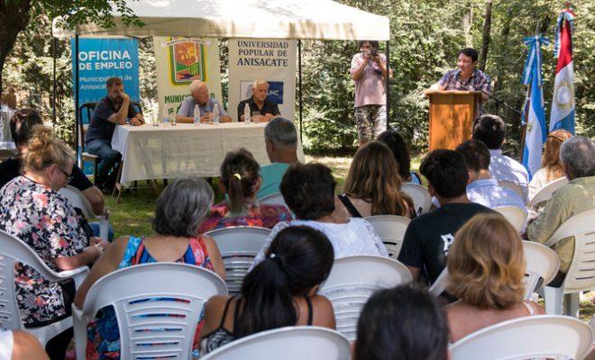 Quedó inaugurada la Universidad Popular de Anisacate