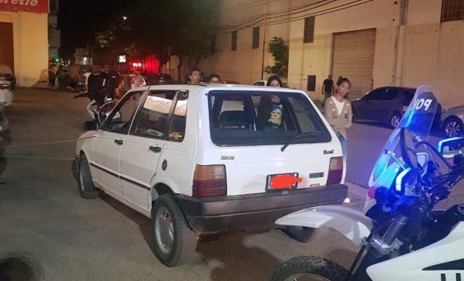 Manejaba tranquilo el auto... hasta que lo paró la policía