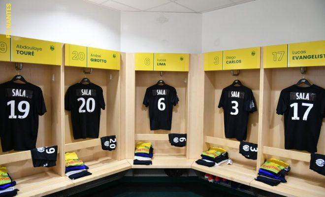 Los jugadores del Nantes llevarán el apellido Sala en la camiseta