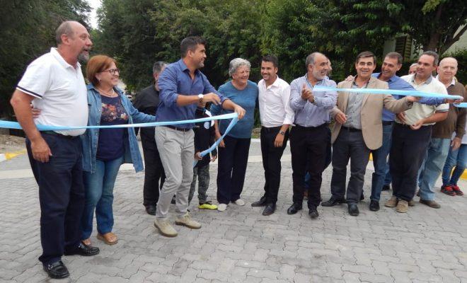 El Municipio inauguró obras en barrio General Bustos