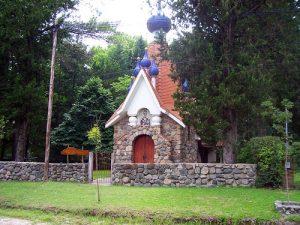 capilla ortodoxa de estilo ruso bizantino San Nicolás de Bari