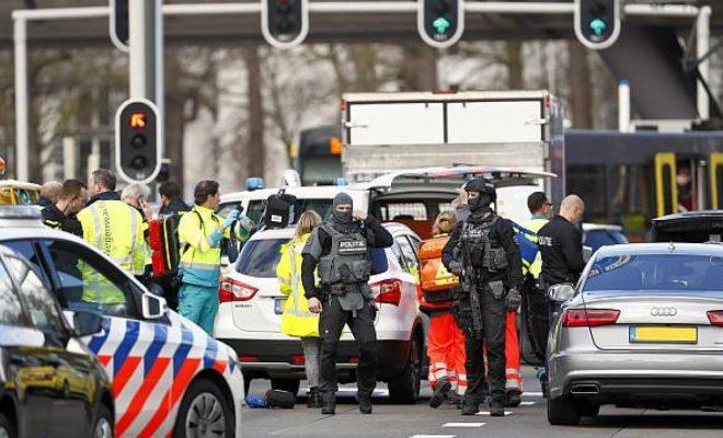 Tiroteo en Holanda dejó al menos un muerto y varios heridos