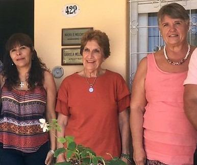 Nora, Betina y Marta, edificadoras de sueños