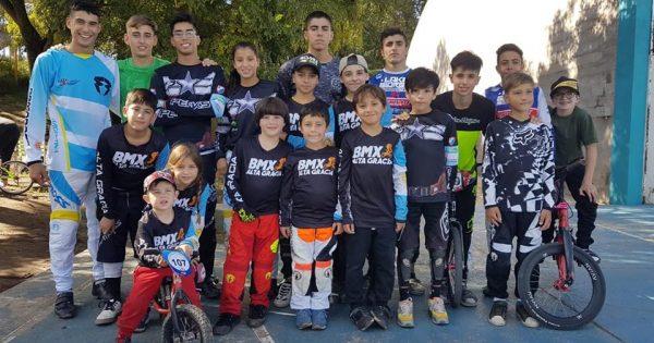 BMX: Alta Gracia pisó fuerte en el Provincial de Río Cuarto